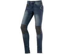 Joy Skinny Fit Jeans Damen, Blau