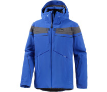 Speed Reader Skijacke Herren, blau/graphit