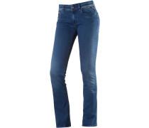 Luz Bootcut Jeans Damen, blau