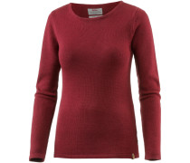 Knit Strickpullover Damen, ox red