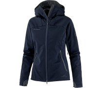 Ultimate Softshelljacke Damen, marine-black