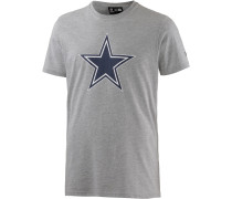 DALLAS COWBOYS T-Shirt Herren, HEATHER GREY