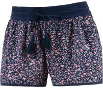 Shorts Damen, dunkelblau/rosa