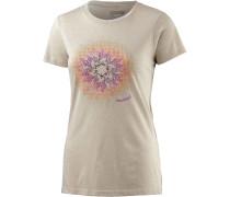 Trope Printshirt Damen, beige
