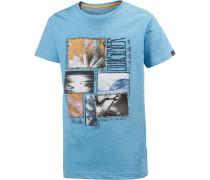 Printshirt Jungen, trükis
