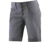 Jeansshorts Damen, Grau