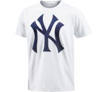 New York Yankees T-Shirt Herren, weiß