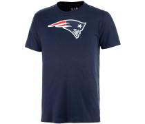 New England Patriots T-Shirt Herren, blau