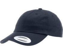 Low Profile Cotton Twill Cap, blau