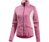 Laurien Strickfleece Damen, rosa