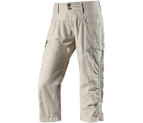 Holiday Cargohose Damen, Beige