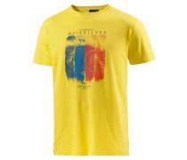 Casa Bazza Printshirt Herren, gelb