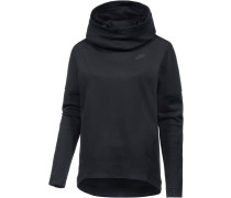 Tech Fleece Hoodie Damen, schwarz