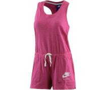Gym Vintage Jumpsuit Damen, fuchsia/melange