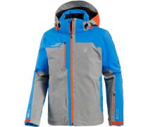 Whistler Skijacke Herren, polar herringbone/french blue/burst