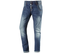 RivaTZ Skinny Fit Jeans Damen, blau