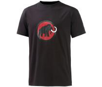 Logo T-Shirt Herren, schwarz