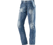 ChesterTZ Straight Fit Jeans Herren, Blau