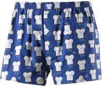 Toast Boxershorts Herren, blau