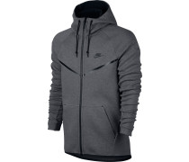 Tech Fleece Sweatjacke Herren, grau