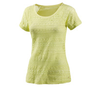 T-Shirt Damen, gelb