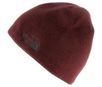 Bones Beanie, sequoia red/brunette brown