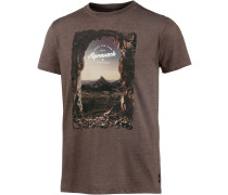Into The Alps T-Shirt Herren, braun