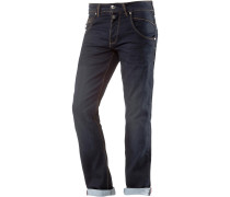HAROLDTZ Loose Fit Jeans Herren, ink shadow wash