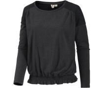 UNDERTOW Langarmshirt Damen, schwarz