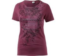 Printshirt Damen, rot