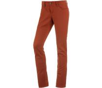 SUNTRIPPERS Skinny Fit Jeans Damen, rot