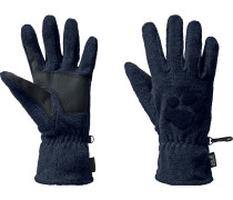 Paw Fleece Handschuhe, night blue