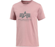 T-Shirt Herren, silver pink