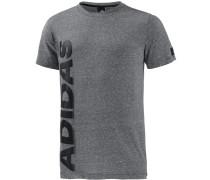 Basic T-Shirt Herren, schwarz