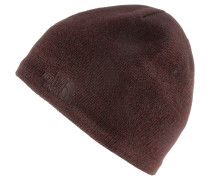 Jim Beanie, sequoia red/brunette brown