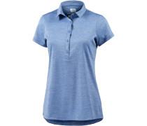 Zero Rules Poloshirt Damen, blau