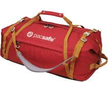 Duffelsafe AT80 Reisetasche, rot/khaki