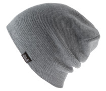 Rib Beanie, grey heather