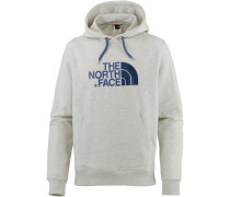 Light Drew Peak Hoodie Herren, tnf oatmeal heather