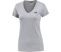 Simple Dome T-Shirt Damen, grau