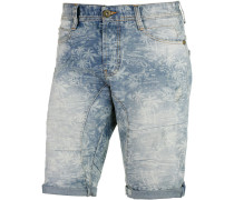Janis Jeansshorts Herren, light blue denim