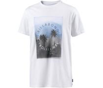 Secluded Printshirt Herren, weiß