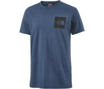 Fine T-Shirt Herren, blue wing teal