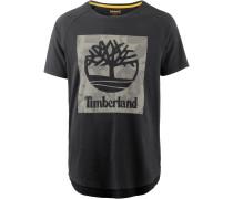 T-Shirt Herren, schwarz