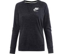 Gym Vintage Langarmshirt Damen, BLACK/SAIL