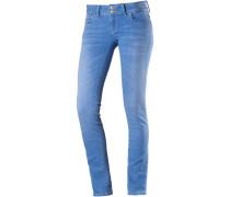 Molly Skinny Fit Jeans Damen, blau