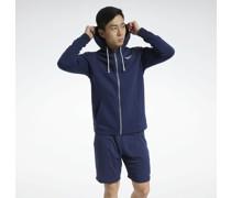 Training Essentials Fleece Zip-Up Hoodie Sweatshirt