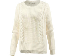 Strickpullover Damen, off white