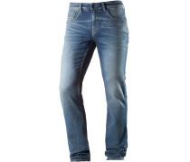 AEDAN Slim Fit Jeans Herren, light stone blue denim