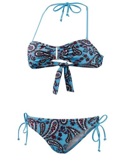 maui wowie damen maui wowie bandeau bikini damen blau 37 reduziert. Black Bedroom Furniture Sets. Home Design Ideas
